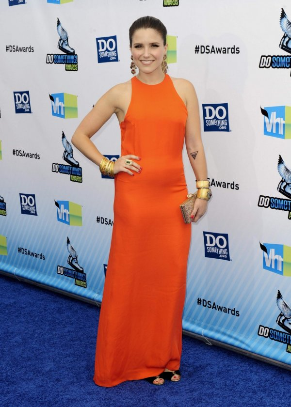 "Actress Sophia Bush arrives at the ""Do Something Awards"" in Santa Monica, California August 19, 2012."