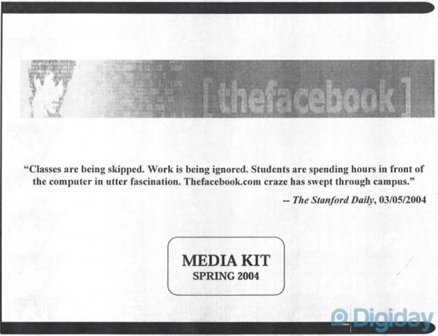 Facebook media kit