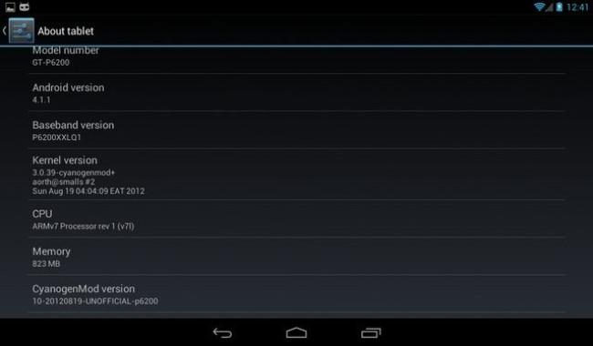Cyanogenmod Galaxy Tab E