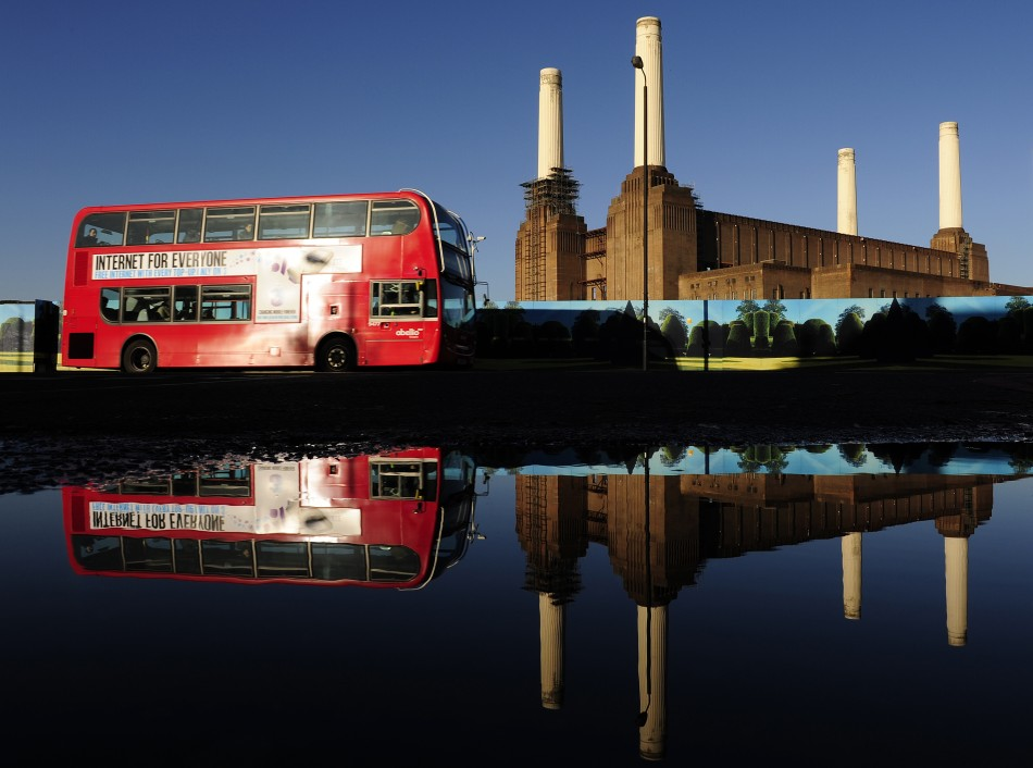 London bus free wifi