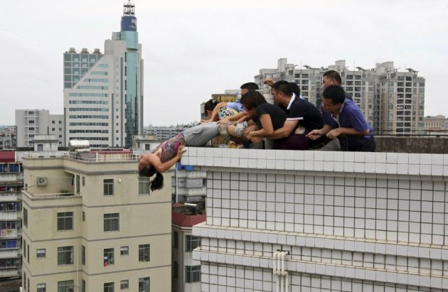 China Suicide murder