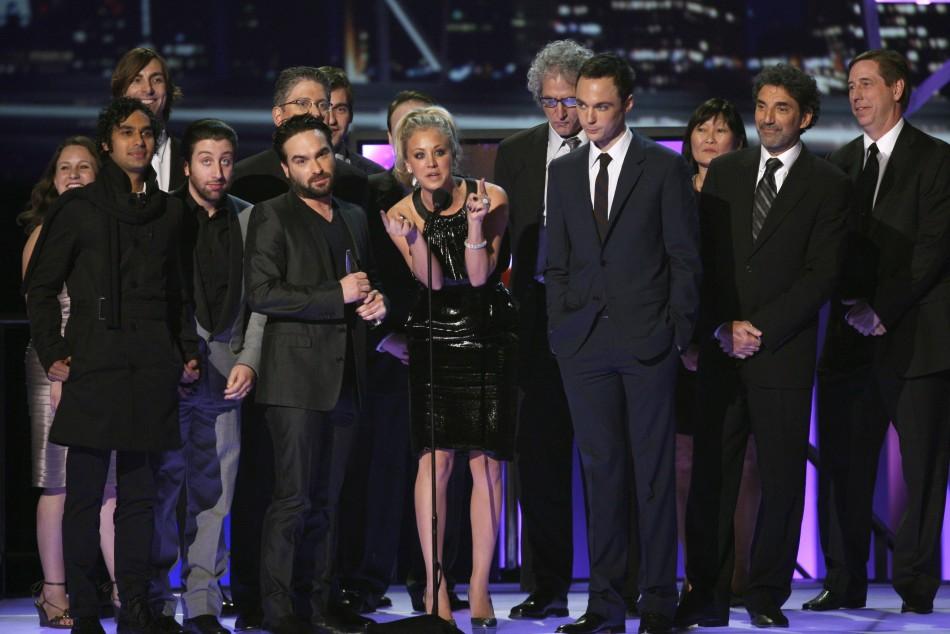 Big bang theory cast reuters