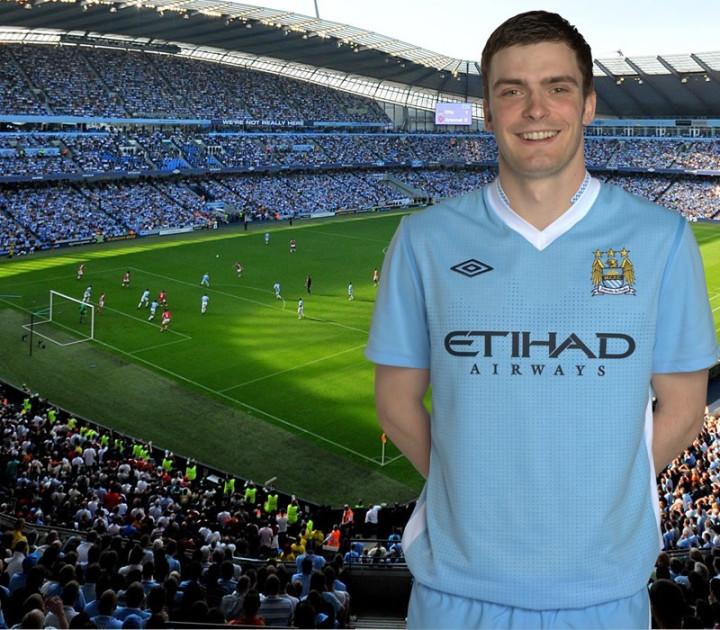 Manchester City's Adam Johnson