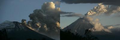 Tungurahua volcano in Ecuador Erupts