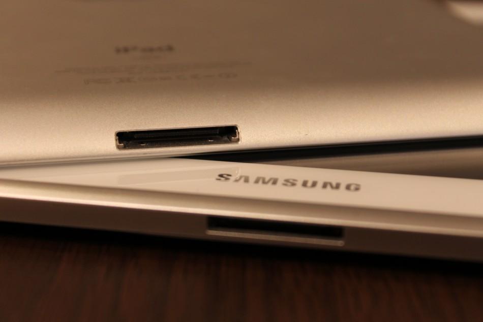 iPad vs Galaxy Note 10.1
