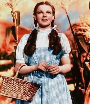 Dorothy Gale costume from 'The Wizard of Oz', designed by Adrian, 1939