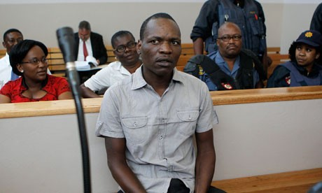 Chris Mahlangu has been sentenced to life in jail mudering South African white supremacist leader Eugene Terre'Blanche (Reuters)