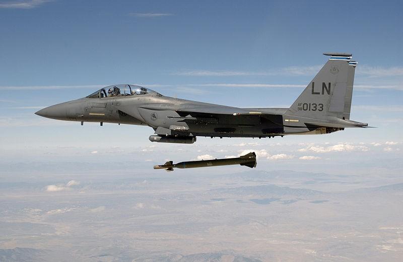 F-15 And GBU-28