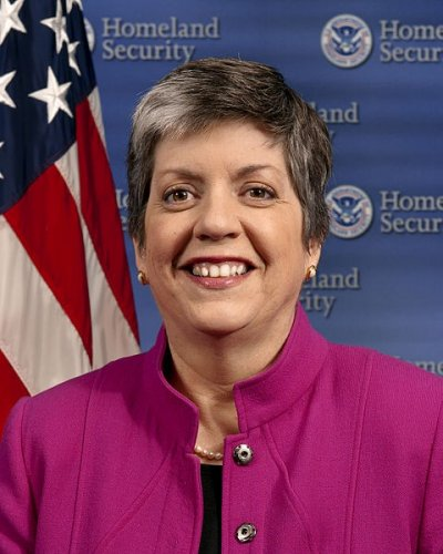 Secretary of the US Department of Homeland Security Janet Napolitano is the worlds 8th most powerful woman, according to Forbes magazines annual list of 100 most powerful women around the world.