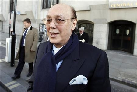 Polly Peck tycoon Asil Nadir has been jailed for stealing nearly £29m from his company during a three-year period (Reuters)