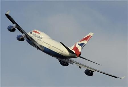 The body was found on a British Airways flight when it landed at Heathrow (Reuters)