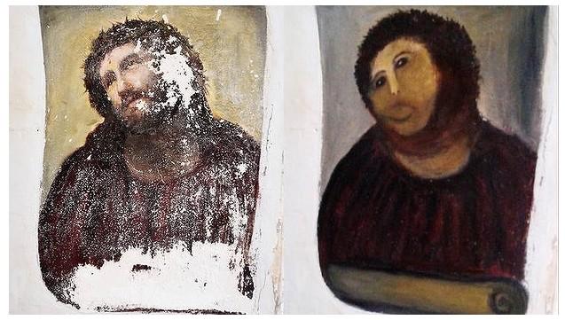 Worst art restoration: 'Ecce Homo'