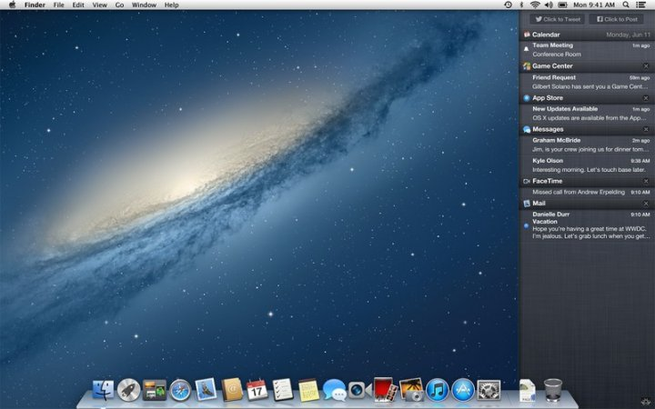 OS X Mountain Lion 10.8.1 Update Fixes Issues with Thunderbolt, iMessages, Exchange server