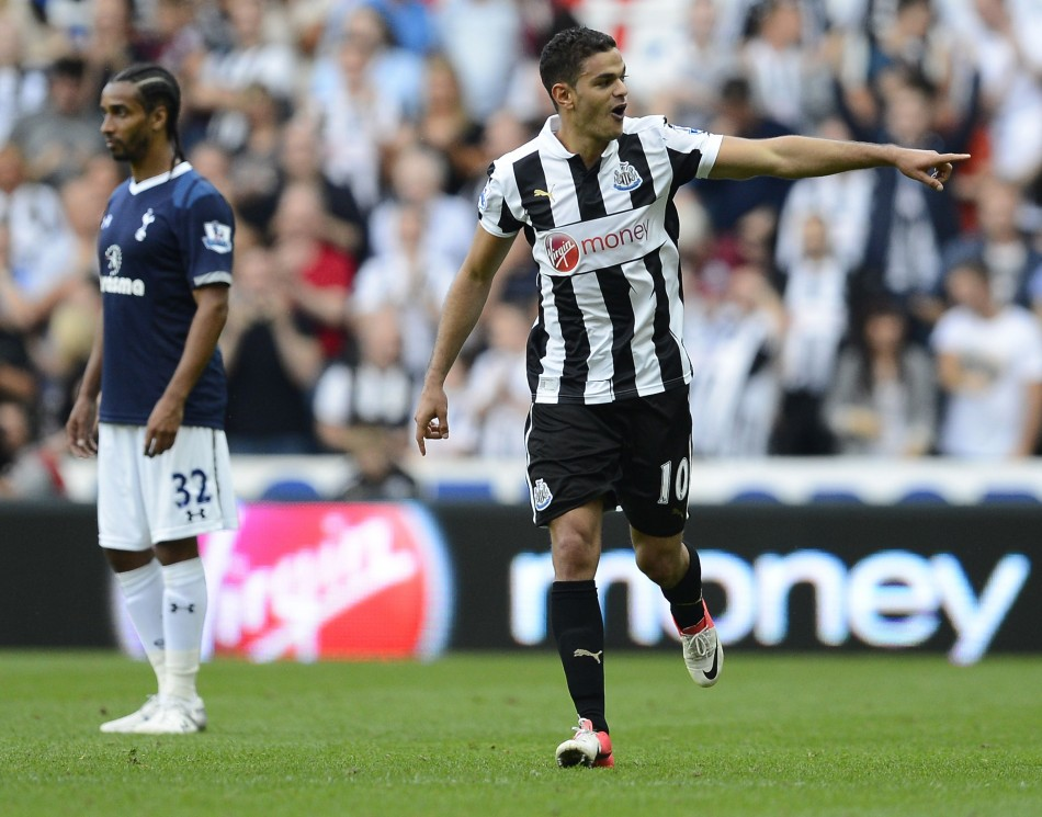 Newcastle United's Ben Arfa