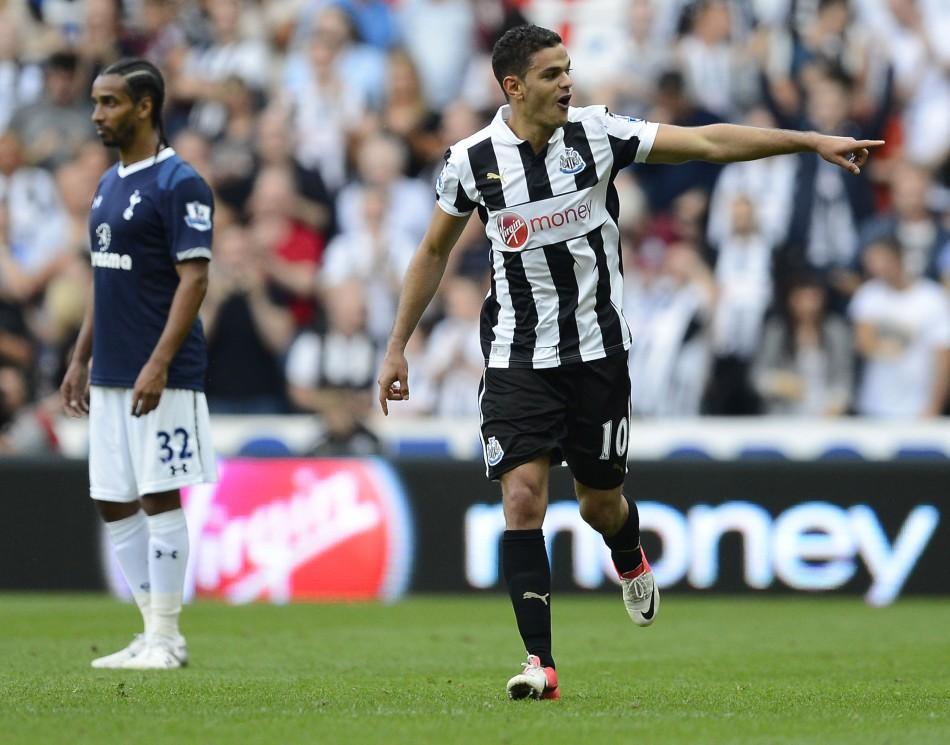 Newcastle United's Ben Arfa