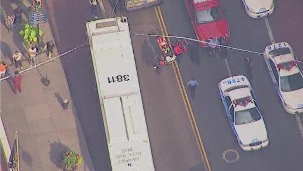 At least one bystander has been  killed in the shooting (ABC)