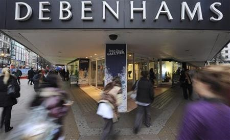 The men are suspected of raping the boy in Debenhams department store in Manchester (Reuters)