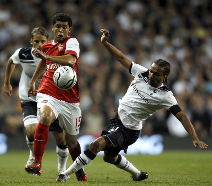 Arsenal Midfielder Denilson Pereira