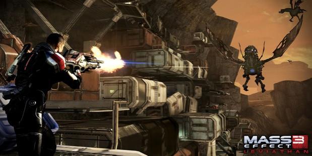 Mass Effect 3: Leviathan DLC Gets New Launch Trailer [VIDEO]