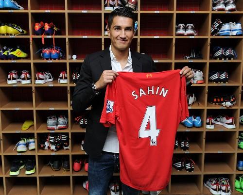 Liverpool's Nuri Sahin