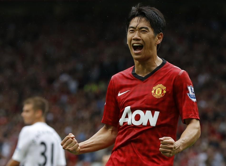 Manchester United Midfielder Shinji Kagawa