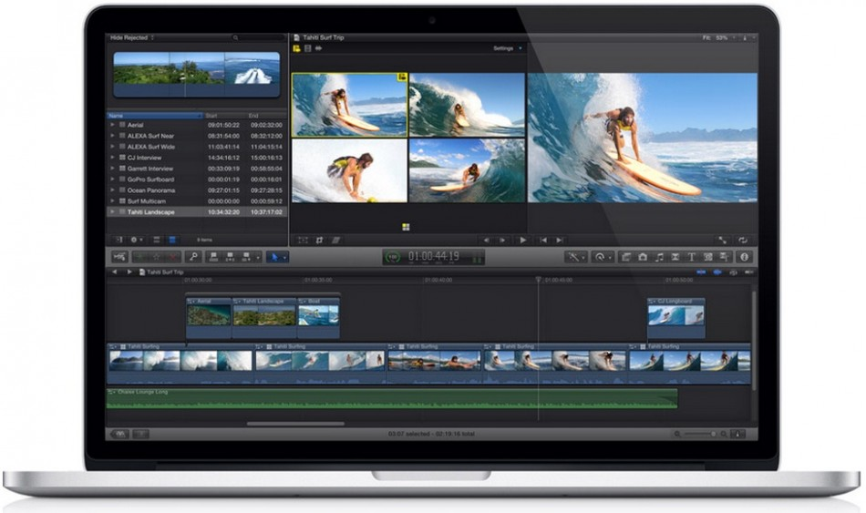 15in MacBook Pro with Retina display