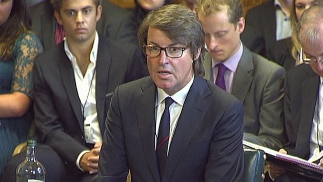 Still image taken from video shows G4S Chief Executive Nick Buckles speaking during a hearing with the parliamentary committee in London Reuters
