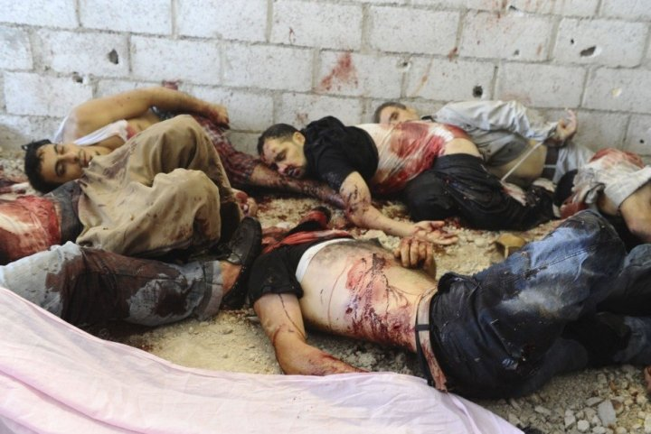 Syria corpses