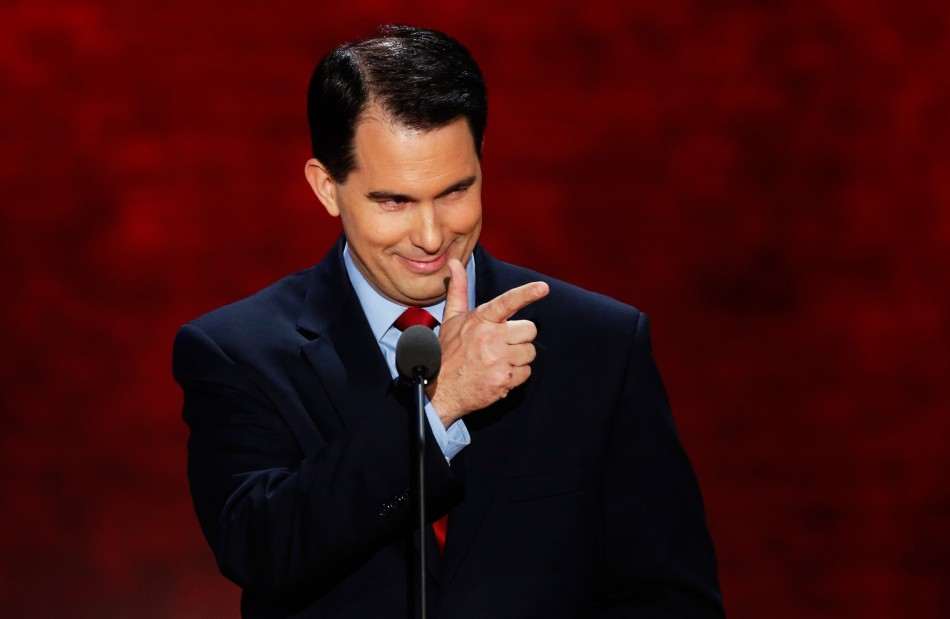 GOP residential candidate Scott Walker