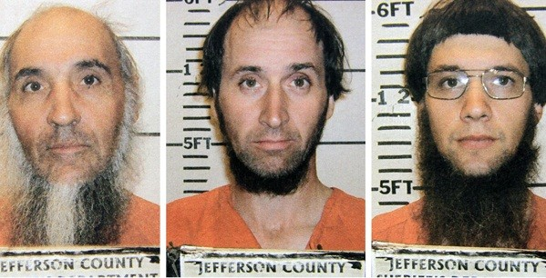 Lester Mullet, Levi Miller and Brother Johnny are three members of the Amish community on trial (Jefferson Country Police)