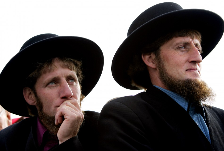 Once married, Amish men never trim their beards (Reuters)