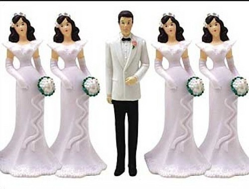 Polygamy is illegal across the western world..