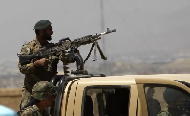 Afghan soldier