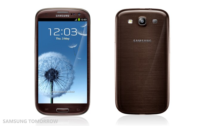 Samsung Galaxy S3 Launched in 3 New Colours with Nature-Based Themes