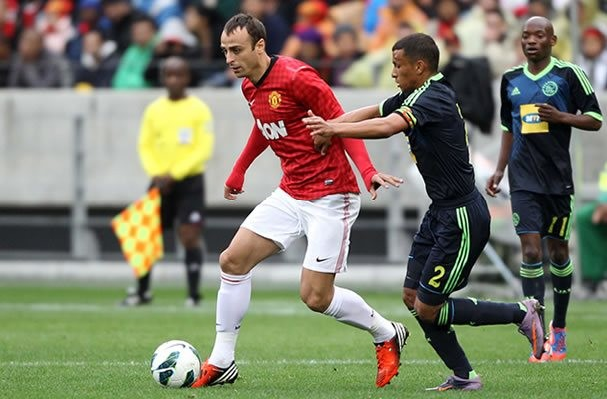 Manchester United skipper Nemanja Vidic