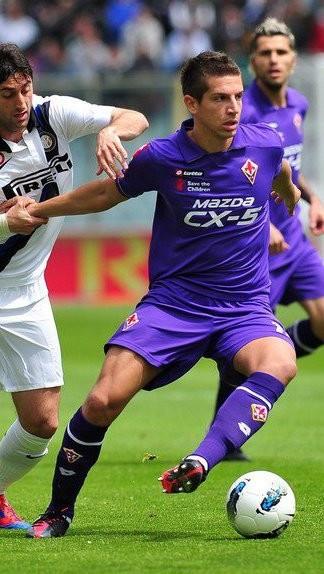 Fiorentina's Matija Nastasic