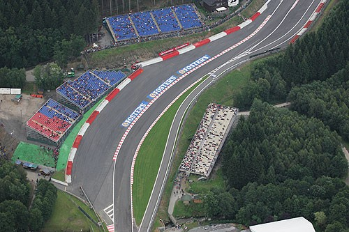 Eau Rouge at Spa-Francorchamps, 2013 Formula 1 Belgian Grand Prix