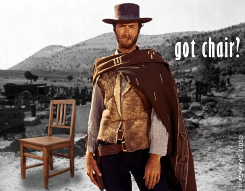 Clint obama chair