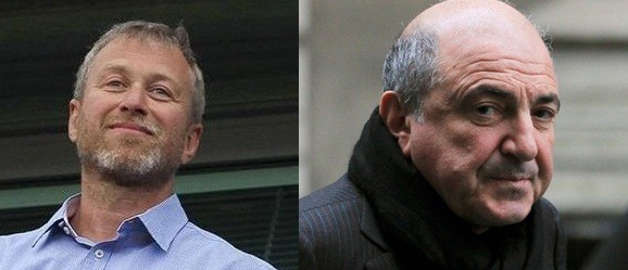 Roman Abramovich (L) has won his legal battle against Boris Berezovsky (Reuters)