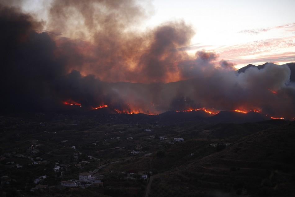 Spain fire