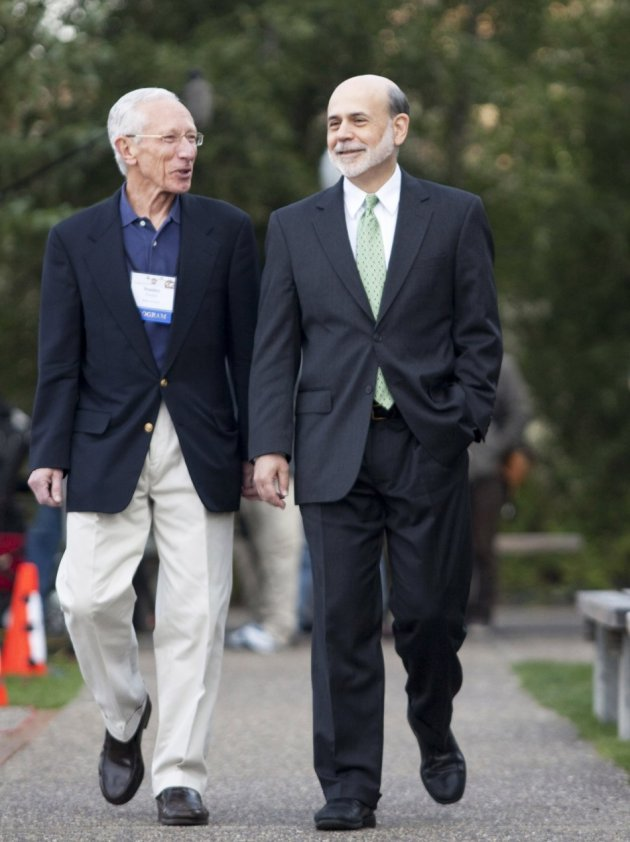 Bernanke suggests further stimulus but refrains from details