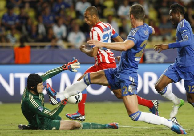 UEFA Super Cup 2012/13 Chelsea v Atletico Madrid