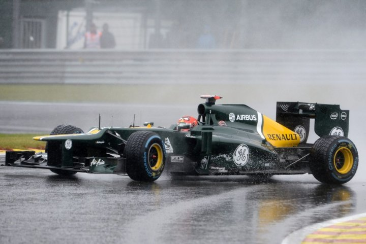 Caterham's Heikki Kovalainen