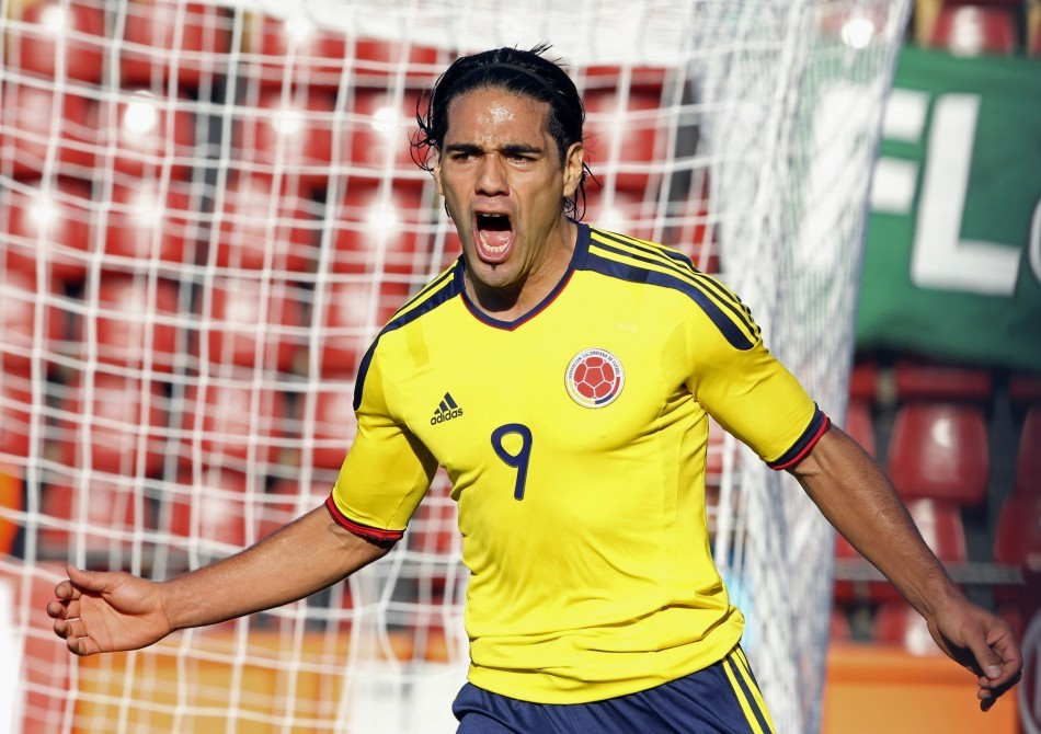 Atletico Madrid's Radamel Falcao