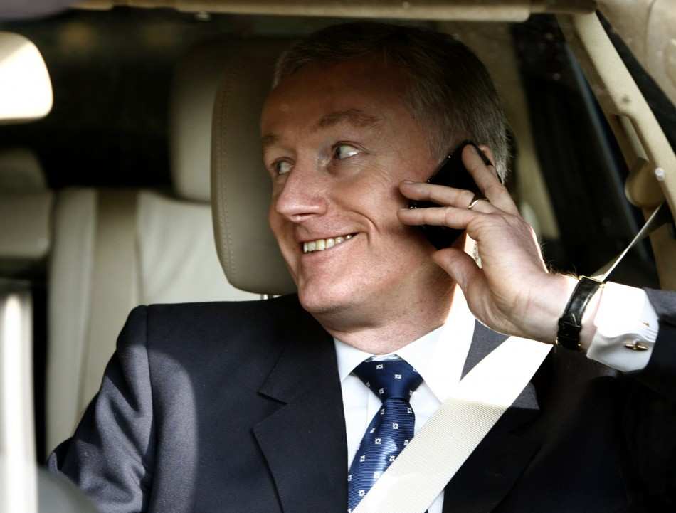 File photo of RBS' ex-CEO Fred Goodwin leaving the Edinburgh International Conference Centre in 2009 (Photo: Reuters)