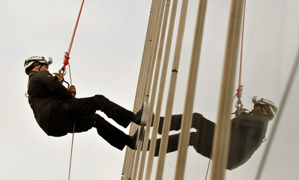 Prince Andrew was raising money for the Outward Bound Trust and the Royal Marines Charitable Trust Fun (Reuters)