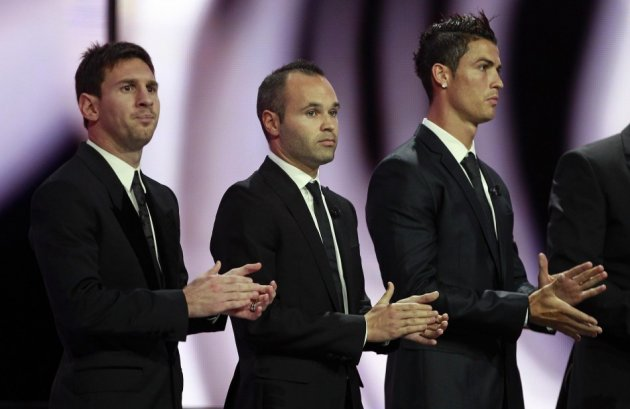Messi Iniesta Ronaldo