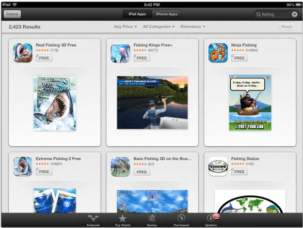 Genius Recommendations Activated on iOS 6 Beta App Store