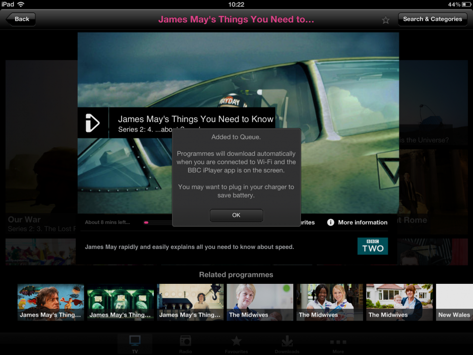 Ipad download bbc can from i iplayer programmes to