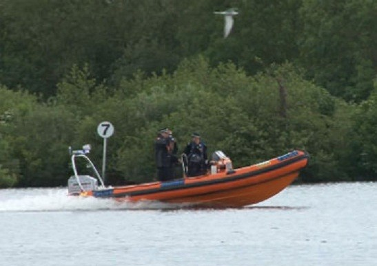 The two bodies were found during a search of the River Bure in Norfolk (Norfolk Constabulary)